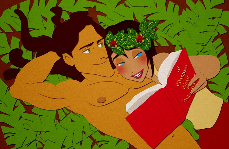 Dreaming of a Green Christmas (Secret Santa) by ashren