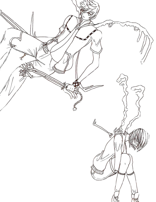 Line Art Key : Line art keys to a soul by random kiba kun on deviantart