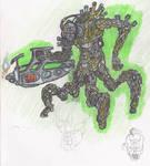 Quadraped Monster man