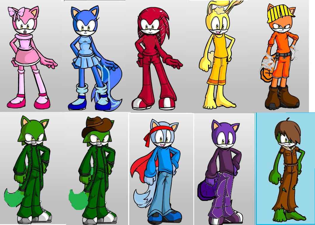 Htf Sonic The Hedgehog Syle By Nighty Blackcat On Deviantart