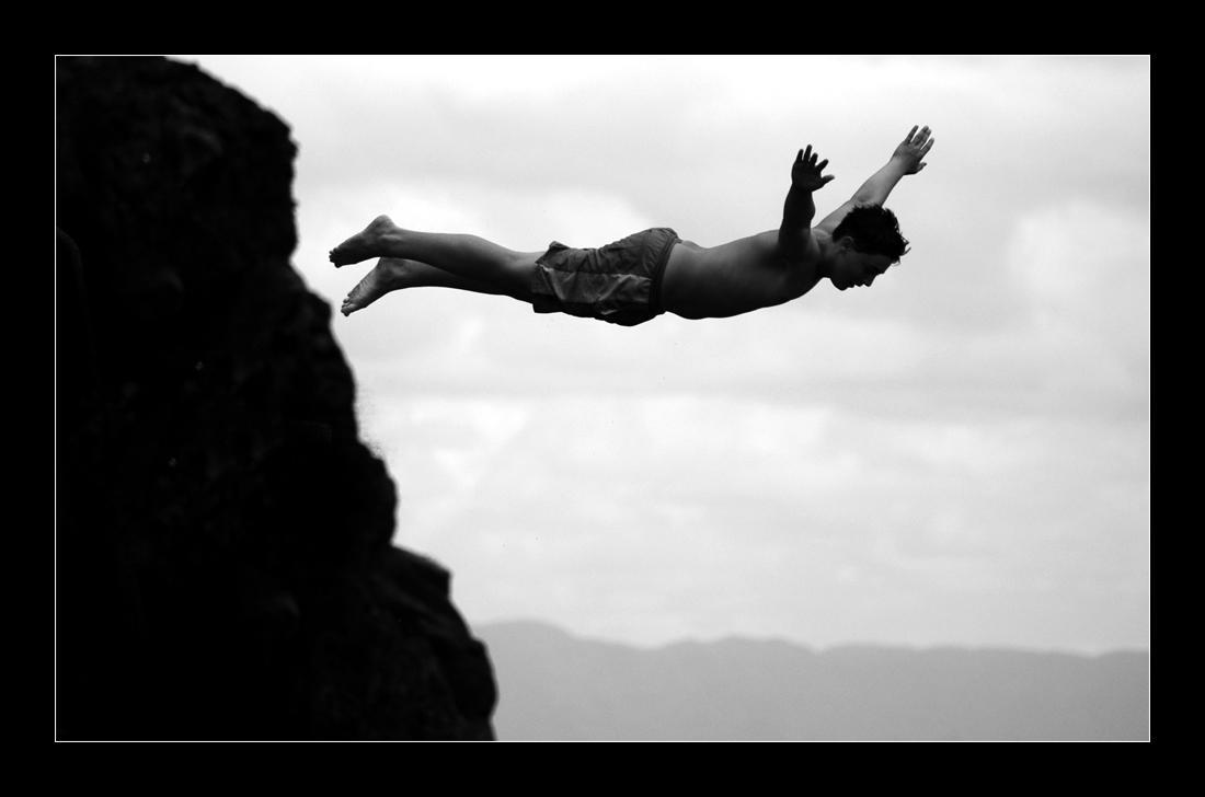 Free Falling By AClockworkJulian
