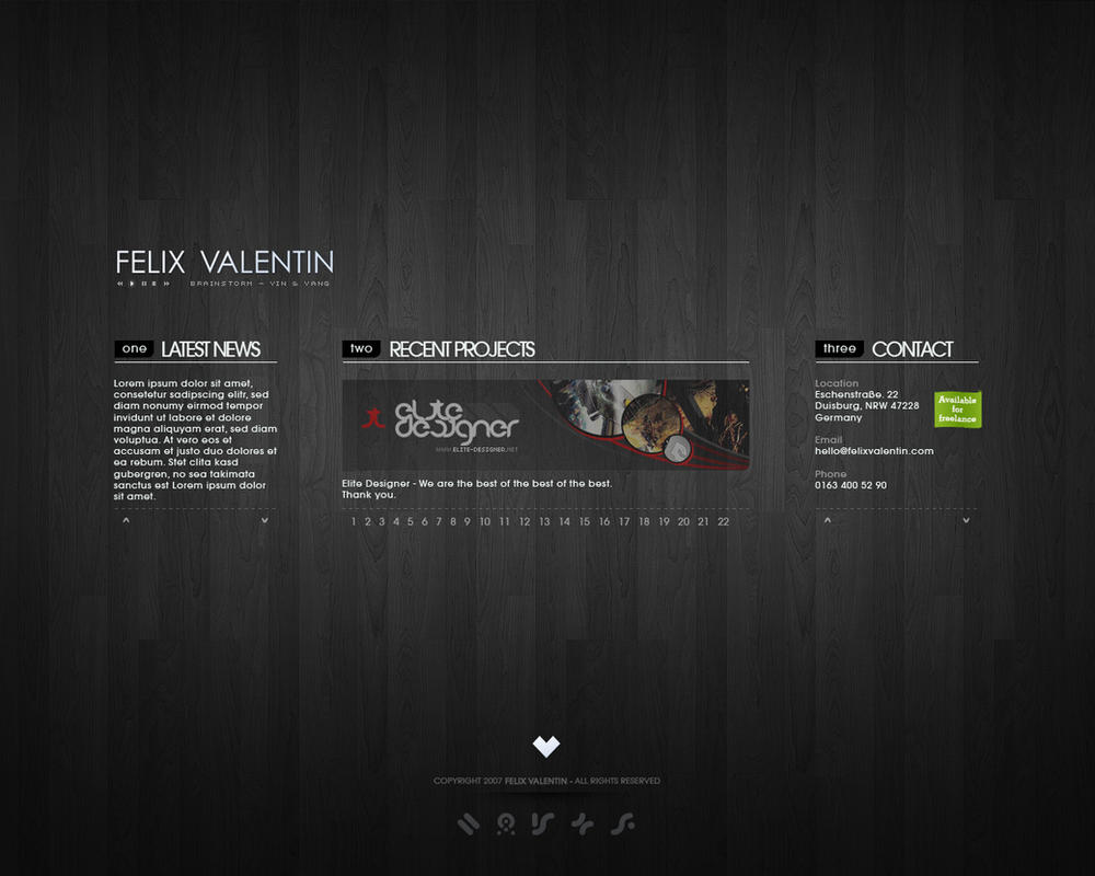 showcase:VALENTIN by Fel1x