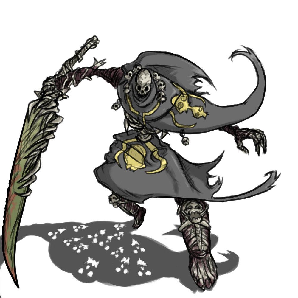 dark souls nito artwork - photo #32