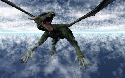 Aelder Dragon by Xadrik-Xu