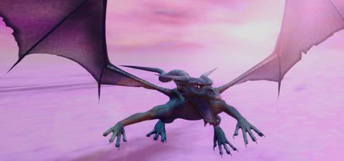 Female Aelder Dragon by Xadrik-Xu