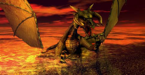 Ancient Dragon by Xadrik-Xu