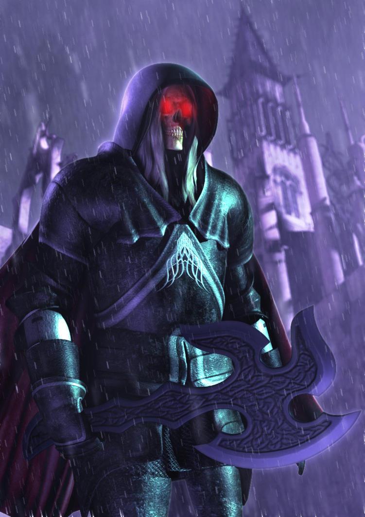 Death Knight by Polyrender