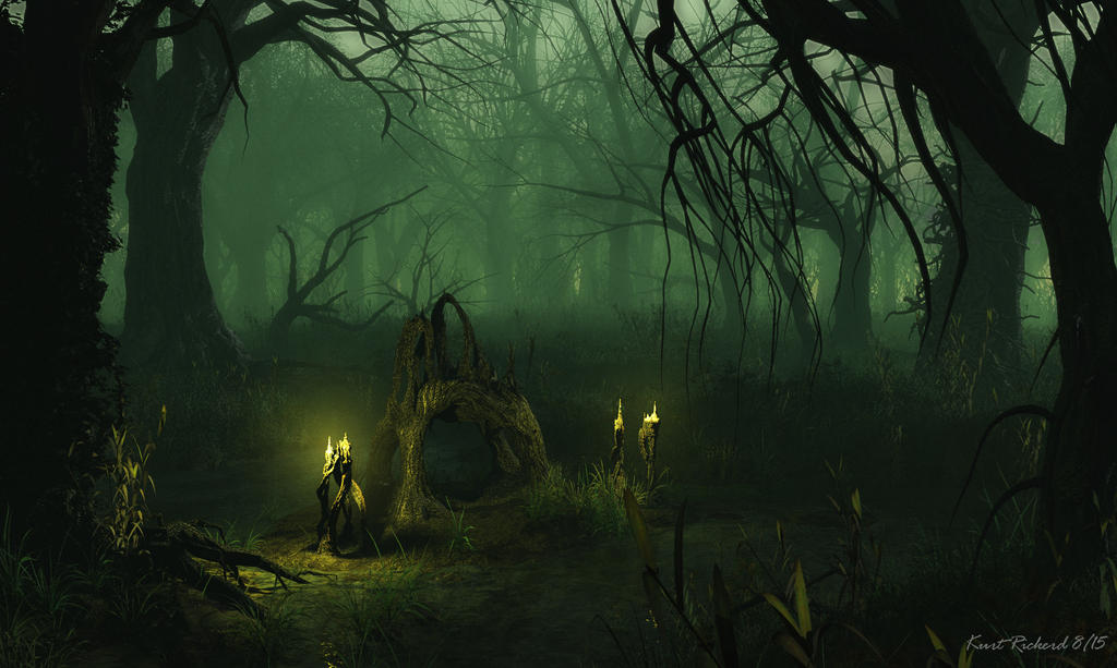 Heart of the Swamp by Polyrender
