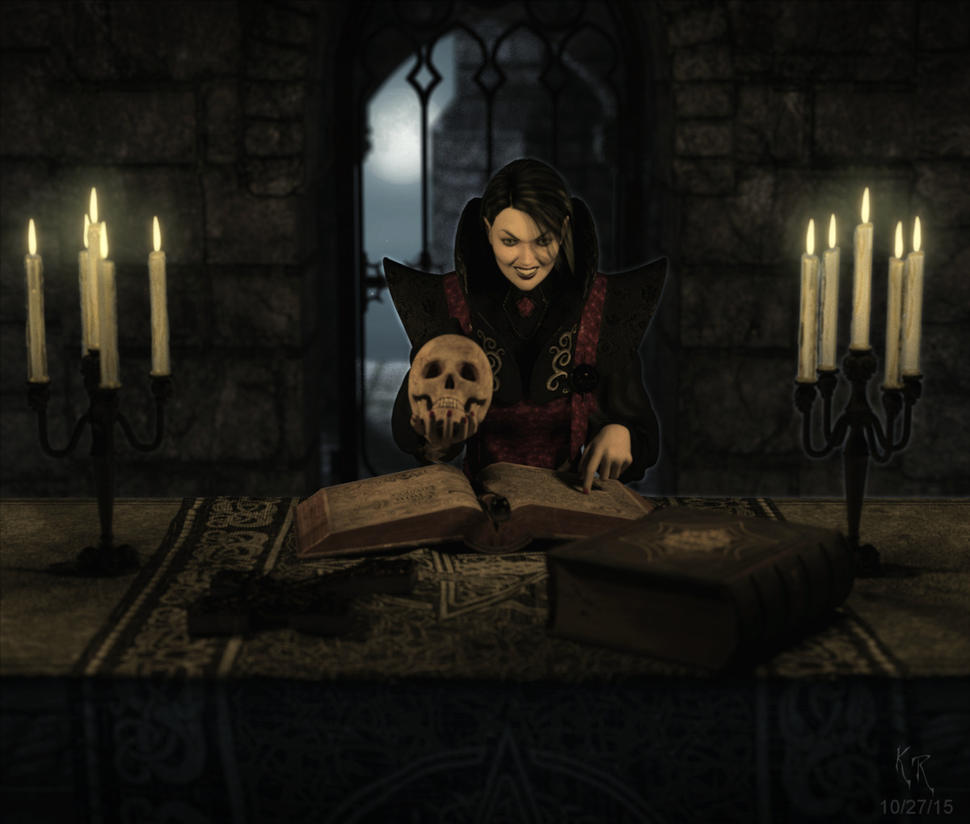 Dark Ritual by Polyrender
