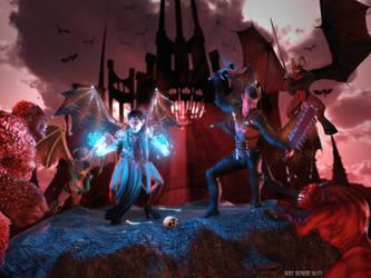 Blood Wars: The Dark Citadel by Polyrender
