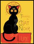 Tournee du Chat Noir de la Lune