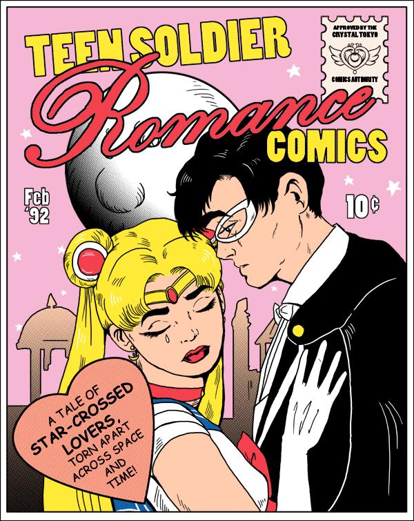Teen Soldier Romance Comics Ver. 2