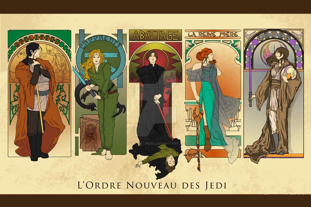 L'Ordre Nouveau des Jedi by DiHA-Artwork