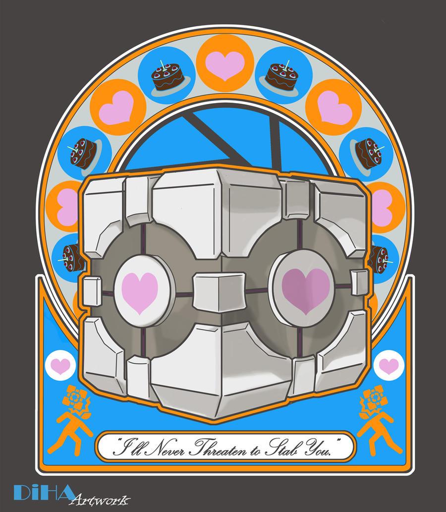 Cube Nouveau by DiHA-Artwork