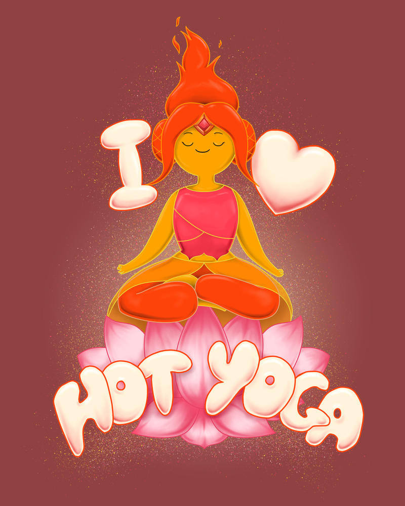 Yoga Princess - *Now Available!* by DiHA-Artwork