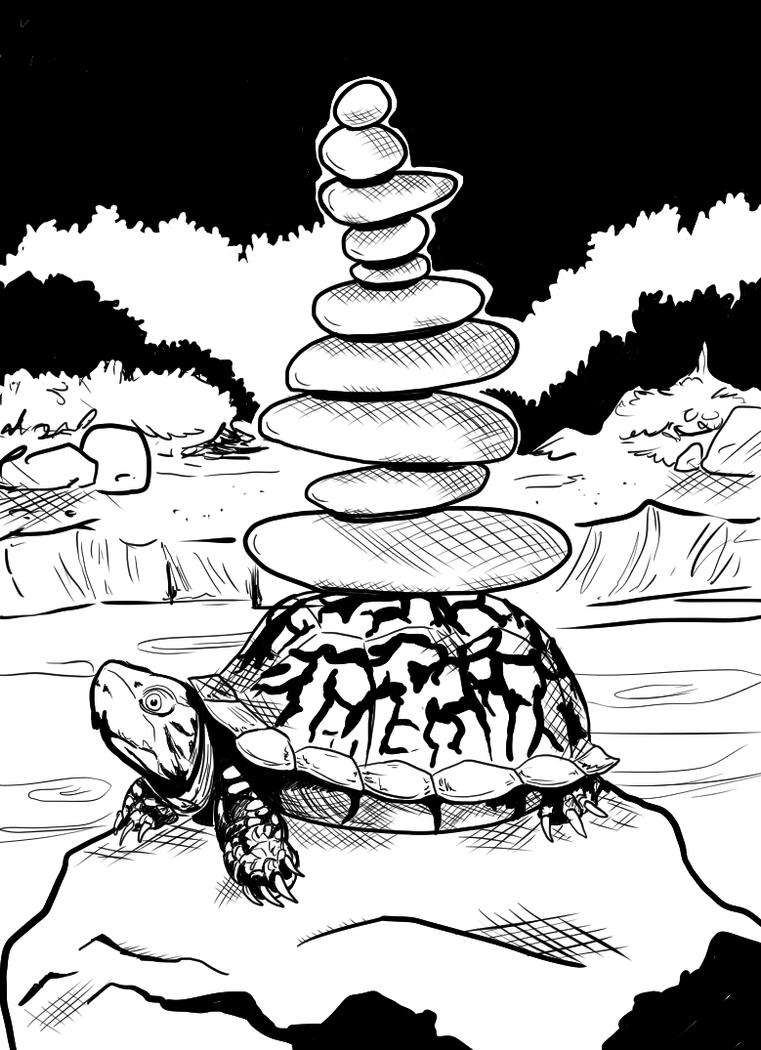 Turtle Stack by DiHA-Artwork