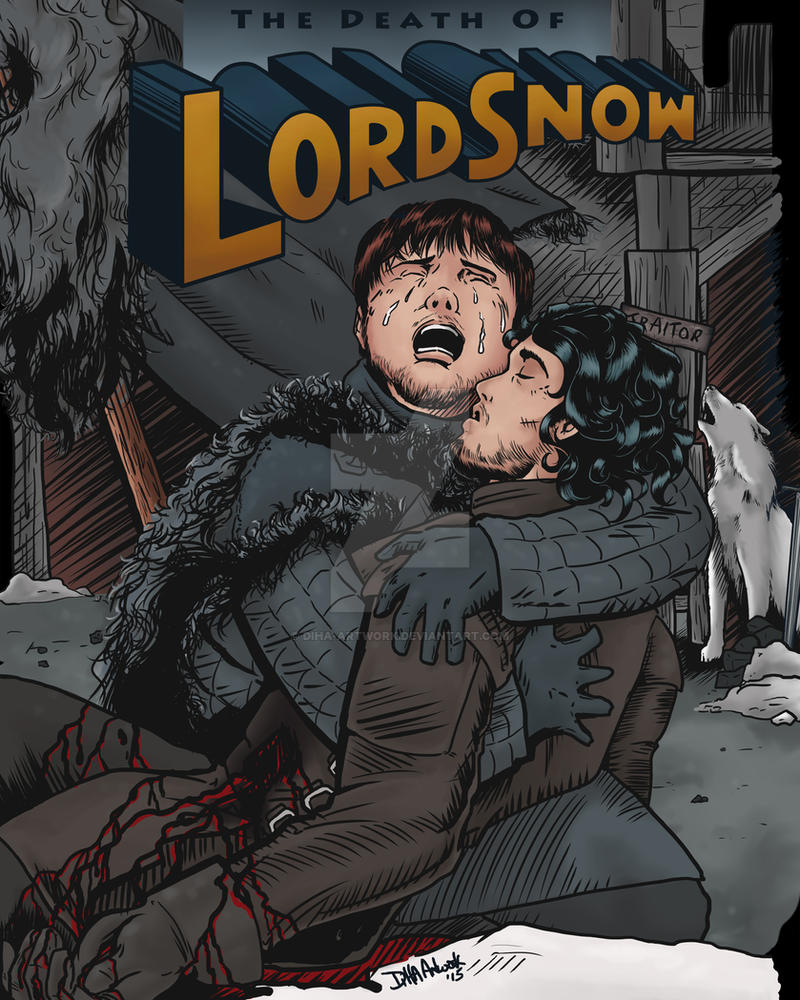 Death of Lord Snow by DiHA-Artwork