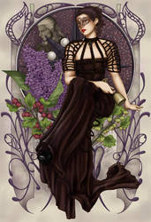Lilac and Gooseberries