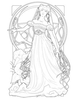 Serenity Coloring Page