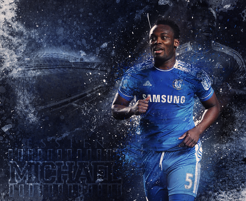 Michael Essien Wallpaper by XB21 on DeviantArt
