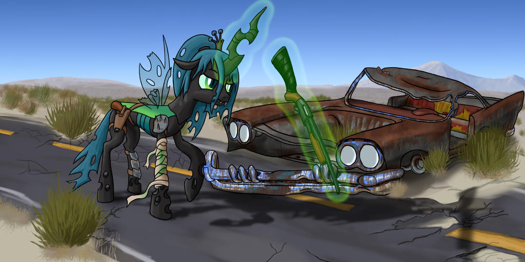 My Chrysalis Highwayman by darth-biomech