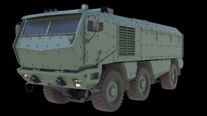 Kamaz Typhoon model