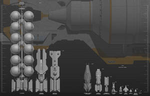 Alliance fleet ships size comparison (WIP3) by darth-biomech
