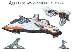 Atmospheric Shuttle by darth-biomech