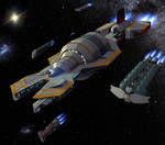 Leaving The Cradle: Aliance Expeditionary Fleet