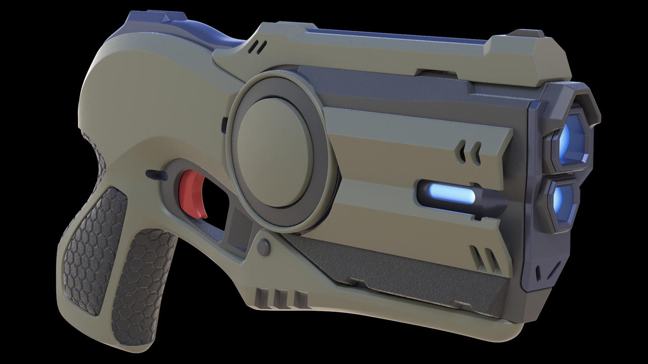 Blaster by darth-biomech
