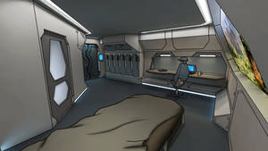 Core ship's apartment cabin