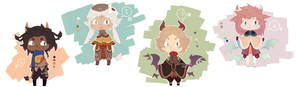 [AUCTION / CLOSED] Fantacieseries adoptable #1