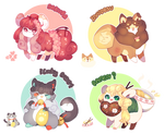 [AUCTION :: CLOSED] Nihon Flufferbun Batch