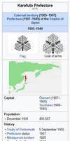 An alternate Karafuto Prefecture