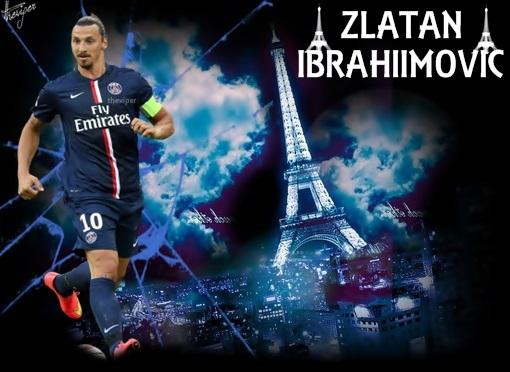 Ibrahimovic PSG Wallpaper By Theviper440