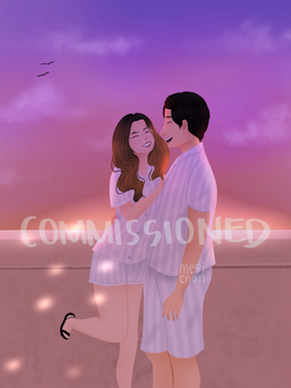 Couple Commissioned art