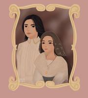 1800's couple portrait