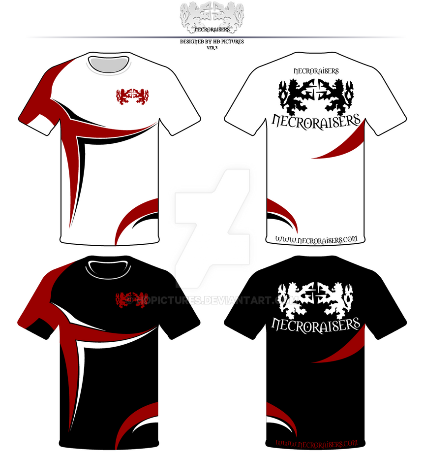 design team t shirts necroraisers ver 3 rep by hdpictures