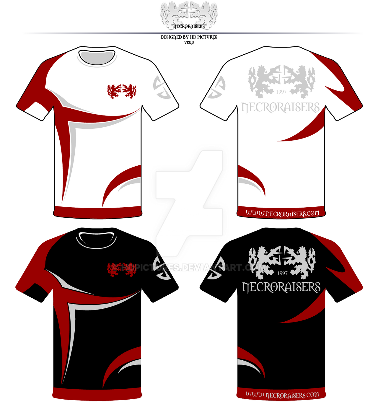 Design team T-Shirts NecroRaisers FINAL by HDPictures on DeviantArt