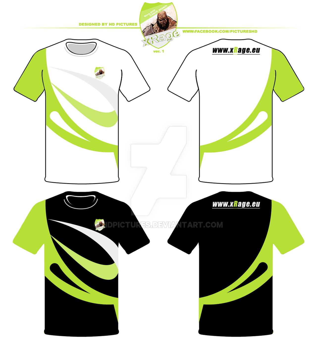 Design team T-Shirts x Rage.eu ver.1 by HDPictures on DeviantArt