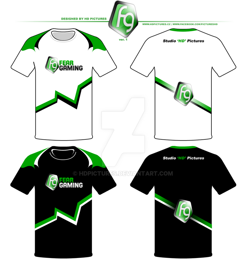 Design Team T Shirts Fear Gaming Ver1 By Hdpictures On Deviantart