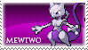 Mewtwo Stamp by HopelessSoul13