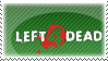 Left 4 Dead Stamp by HopelessSoul13