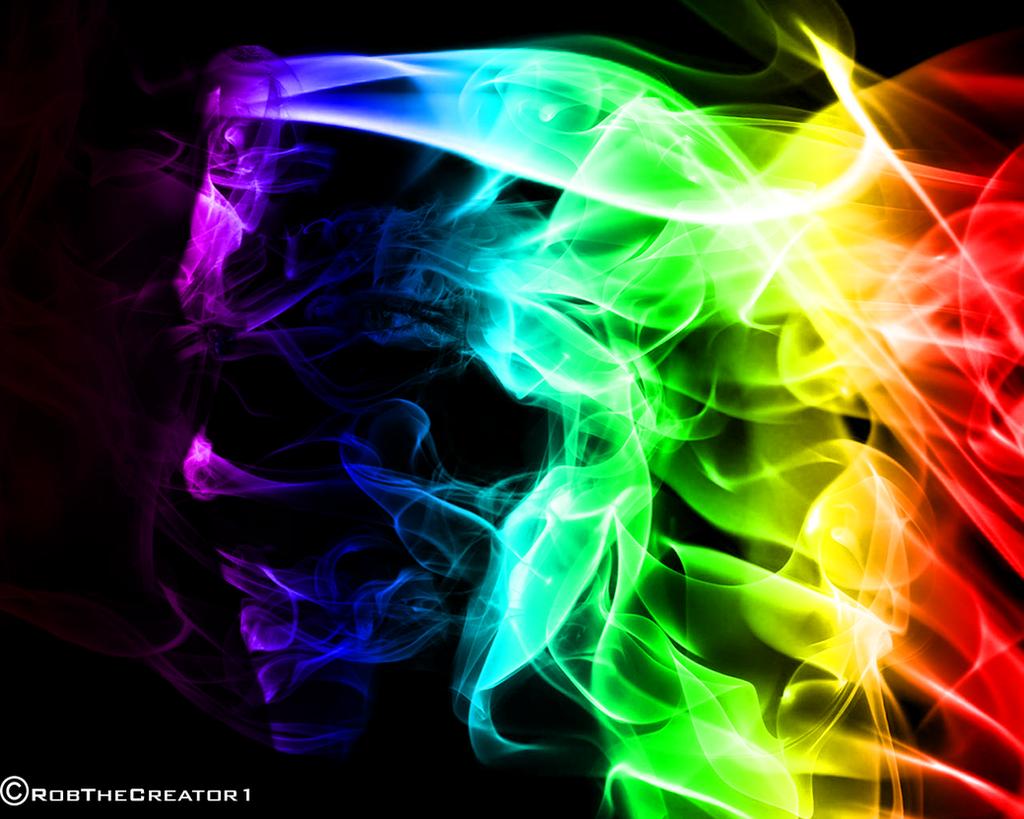 rainbow smoke wallpapers r - photo #16
