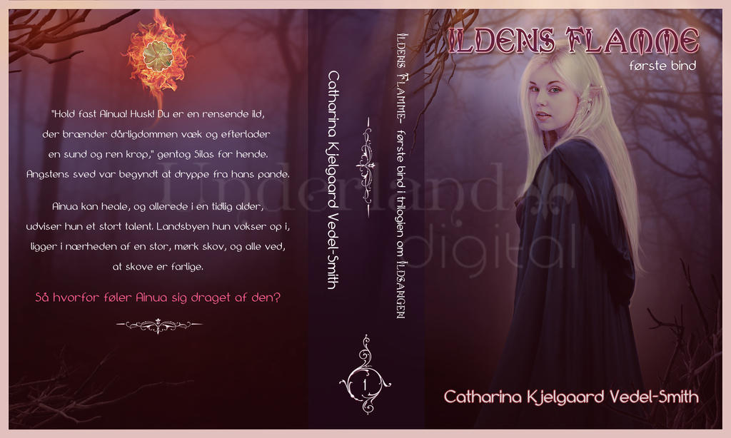 Book Cover Art For Sale : Book cover ildens flamme now for sale by