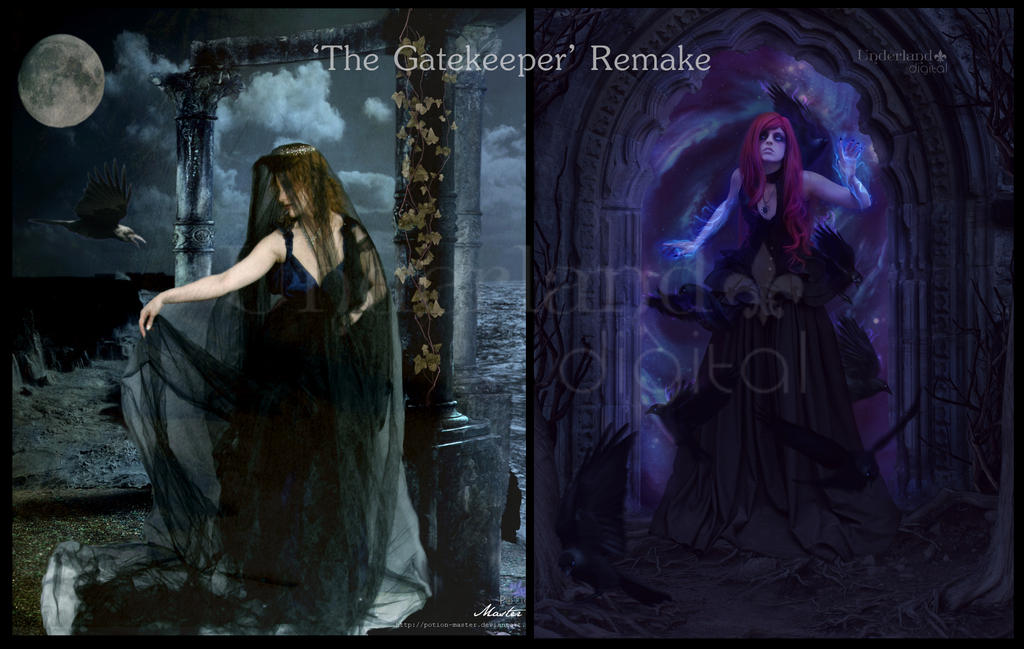 The Gatekeeper - before and after (2011/2016)