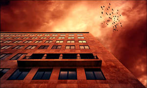 windows on the hell by arbebuk