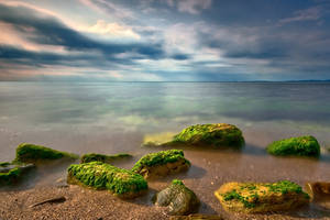 like stones in the sea by arbebuk