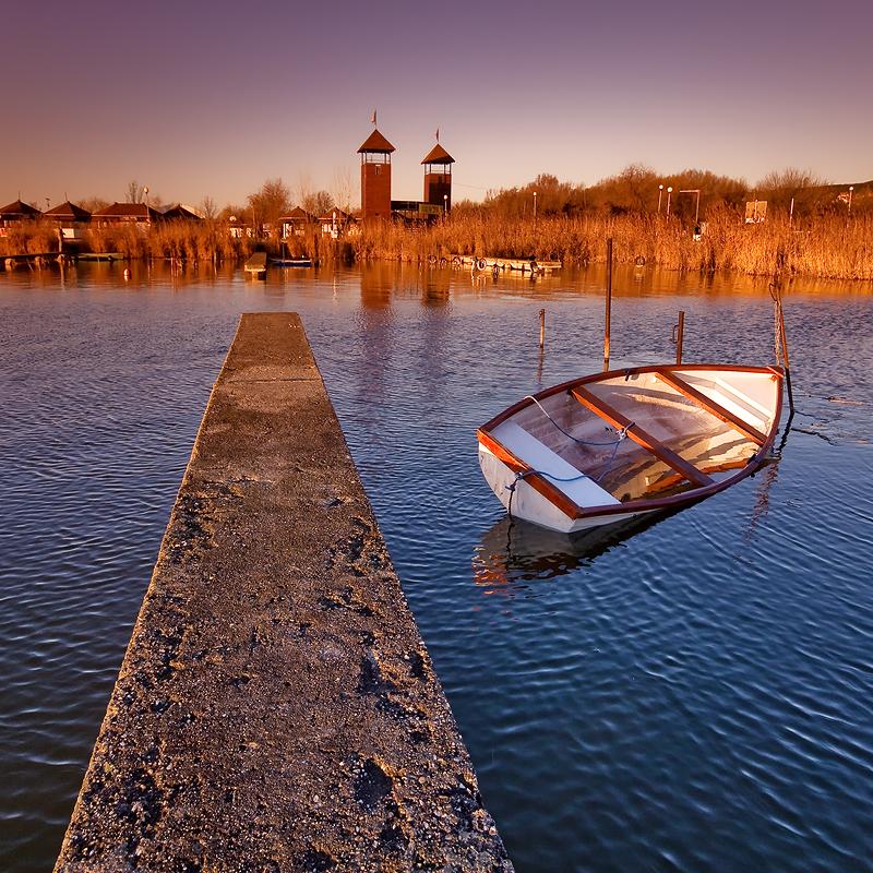 peaceful lakeside by arbebuk