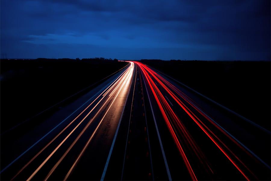 night traffic by arbebuk